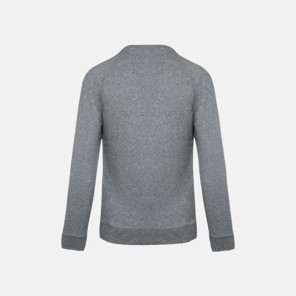 Sweatshirts i eko-bomull med reklamtryck