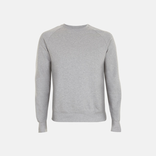 Light Heather Eko unisex sweatshirts med reklamtryck
