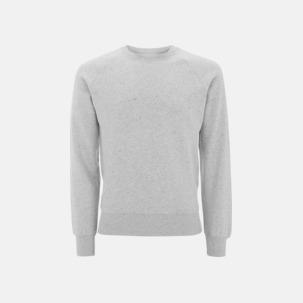 Eko herr sweatshirts med reklamtryck