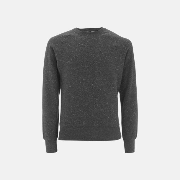 Black Twist Eko unisex sweatshirts med reklamtryck