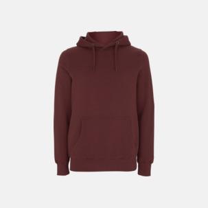 Eko pullover hoodies med reklamtryck