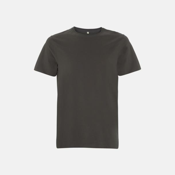 Dark Charcoal Unisex eko t-shirts med reklamtryck