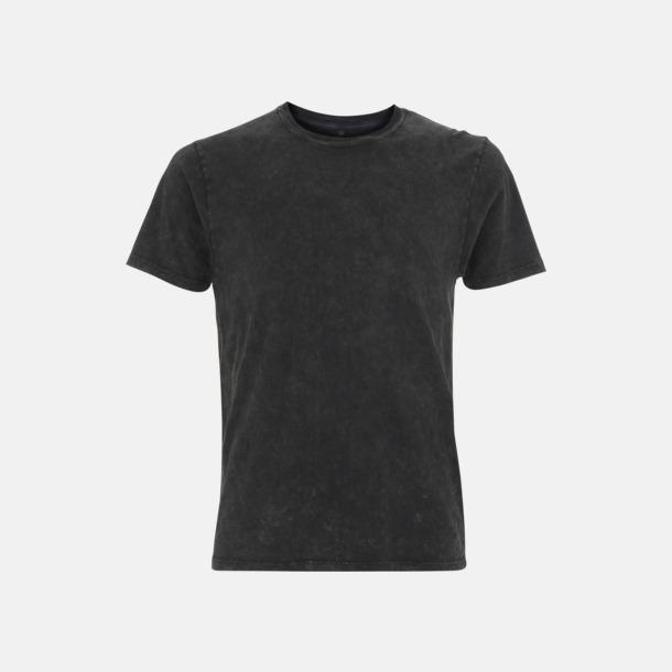 Acid Black Unisex eko t-shirt med reklamtryck