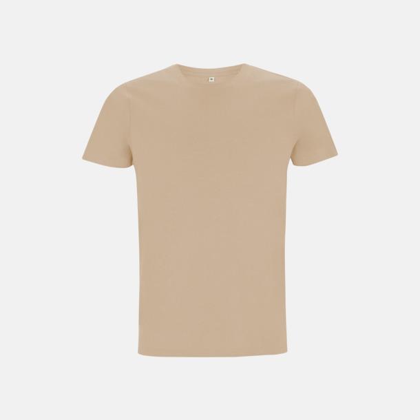 Camel Unisex eko t-shirt med reklamtryck
