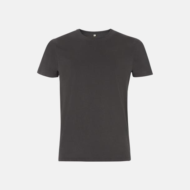 Dark Charcoal Unisex eko t-shirt med reklamtryck