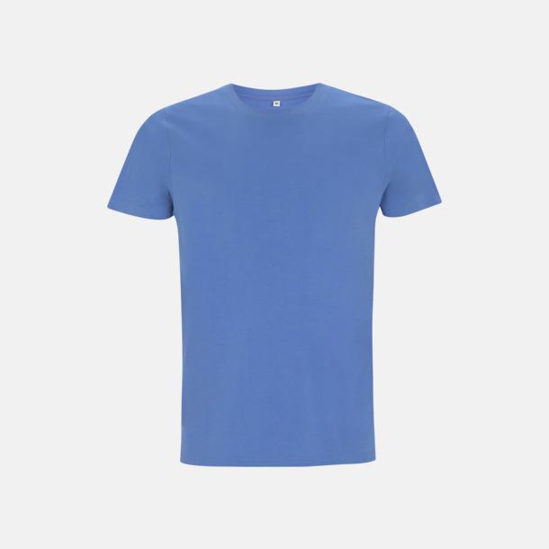 French Blue Unisex eko t-shirt med reklamtryck