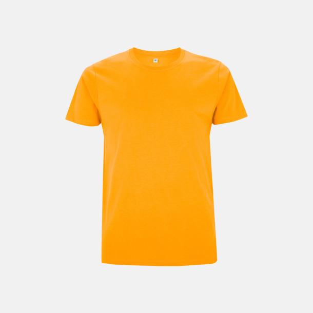 Gold Unisex eko t-shirt med reklamtryck