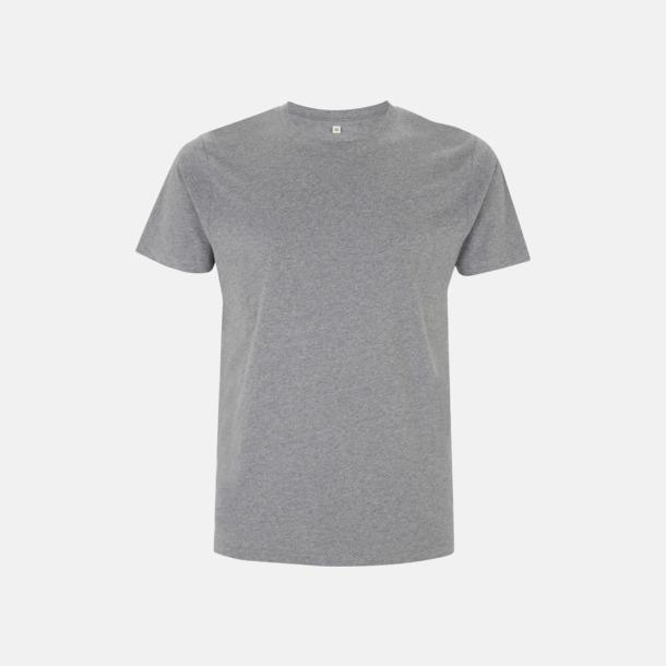 Melange Grey Unisex eko t-shirt med reklamtryck