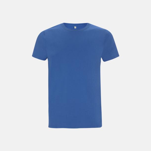 Royal Blue Unisex eko t-shirt med reklamtryck