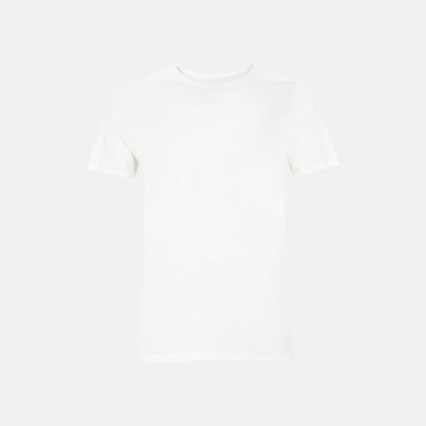 Stone Wash White Unisex eko t-shirt med reklamtryck