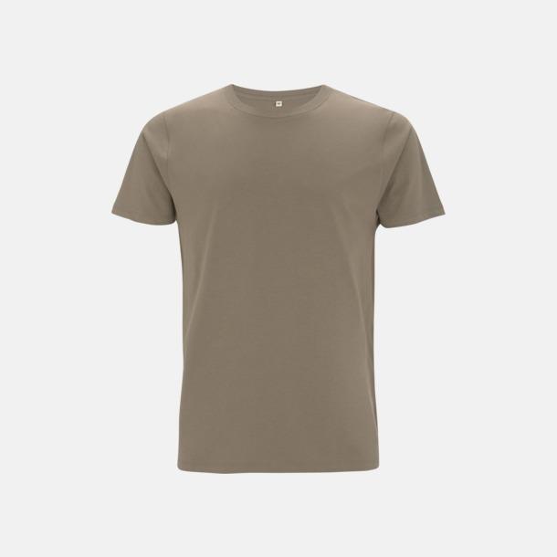 Walnut Unisex eko t-shirt med reklamtryck