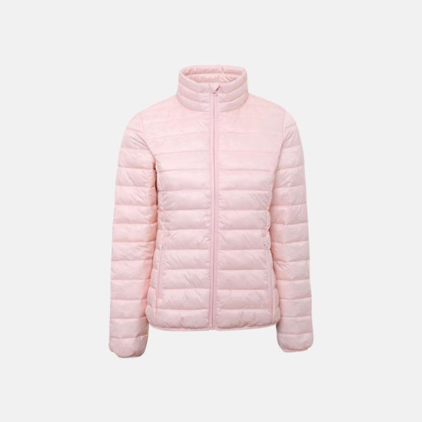 Cloud Pink (endast dam) Vadderade och fina jackor med reklamtryck