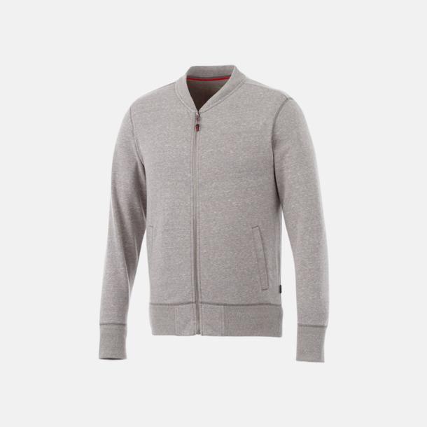 Grey Melange Fina tröjor från Slazenger med reklamtryck