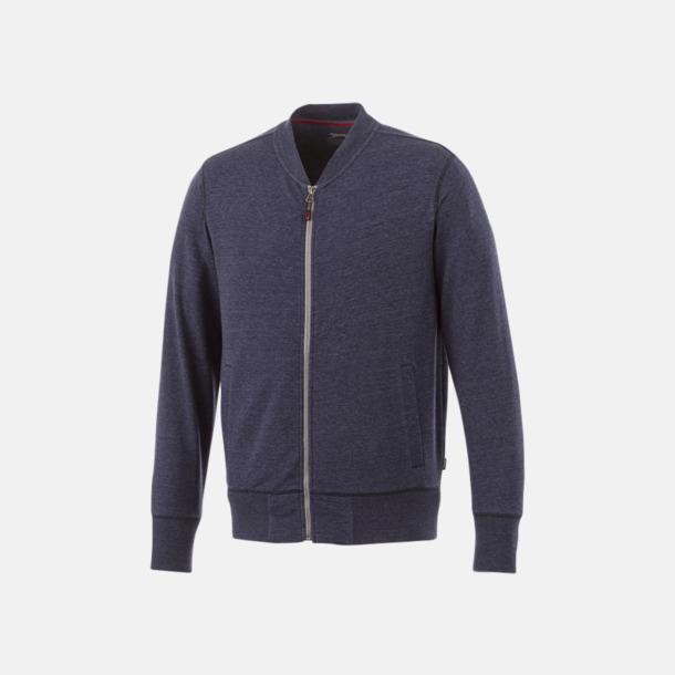 Marinblå Fina tröjor från Slazenger med reklamtryck
