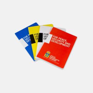 Limmade anteckningsböcker med reklamtryck