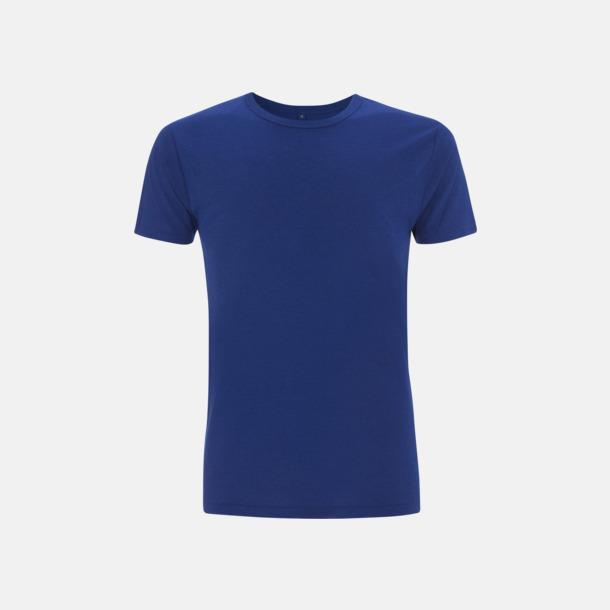 Midnight Blue Herr t-shirts i bambu med reklamtryck
