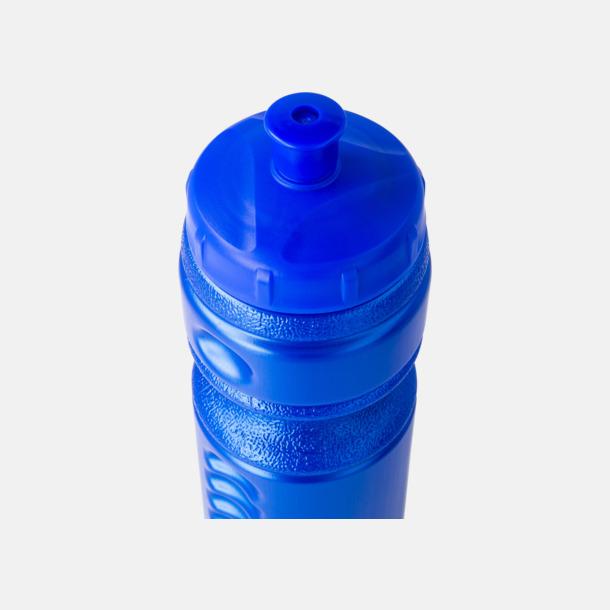 Blå flaska, blå kork Sportflaskor med reklamtryck