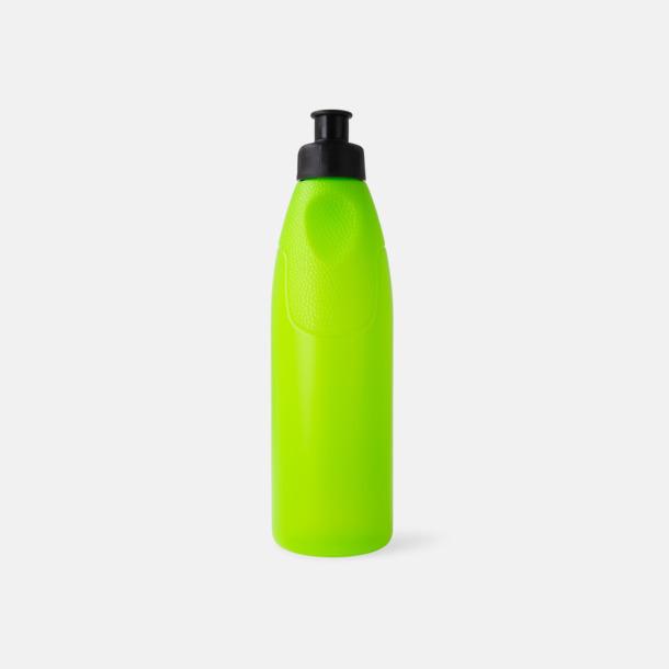 Grön Ladynette - bio-plast vattenflaskor med tryck