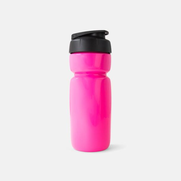 Utgått Sportiga vattenflaskor med flipkapsyl med reklamtryck