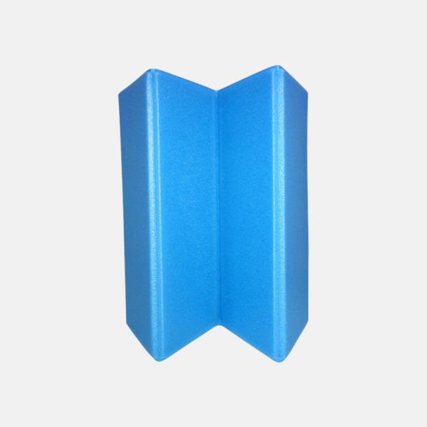 Ljusblå (PMS 2925) Vikbara sittdynor med reklamtryck