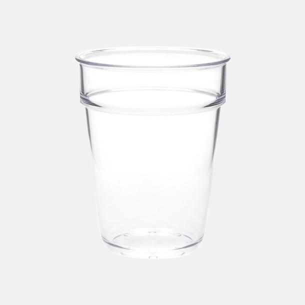 Allglas i plast med reklamtryck
