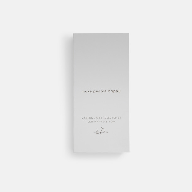 Presentkartong 3-delars steel knivset från Selected by Leif Mannerström