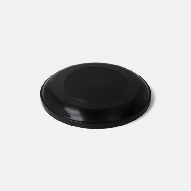 Svart (solid) Frisbees med reklamtryck