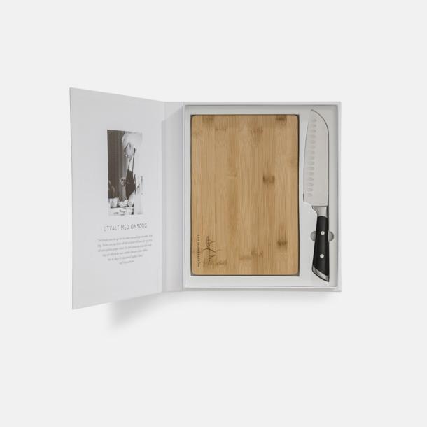 Kökskniv och skärbräda i set från Selected by Leif Mannerström