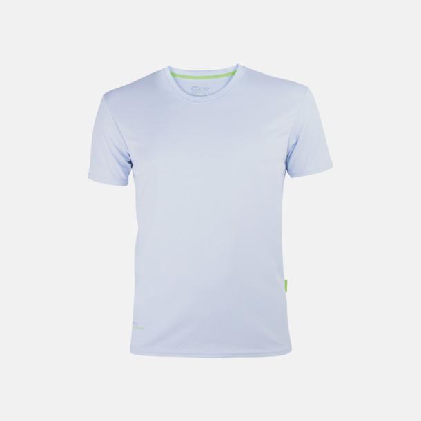 Ice Grey (herr) Tränings t-shirts i återvunnet material med reklamtryck