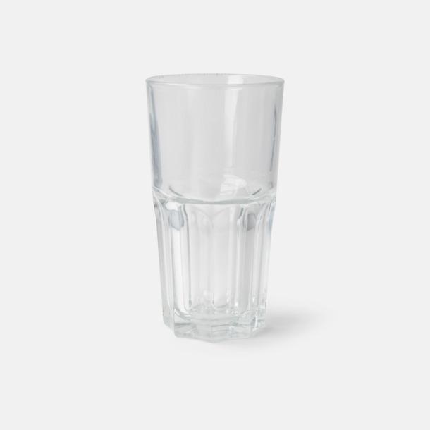Transparent Glas med eget tryck