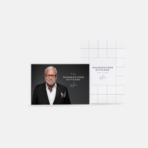 Fina gåvokort samt en bonusgåva från Selected by Leif Mannerström