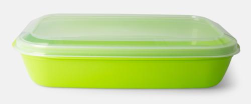 Limegrön Matlådor med reklamtryck