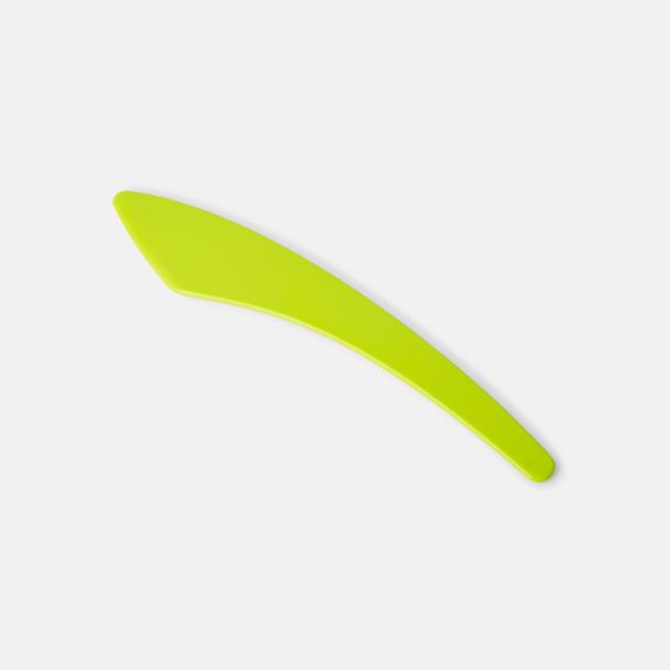 Limegrön (PMS 367) Smörkniv med reklamtryck