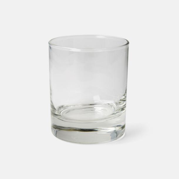 Rejäla whiskyglas med reklamtryck