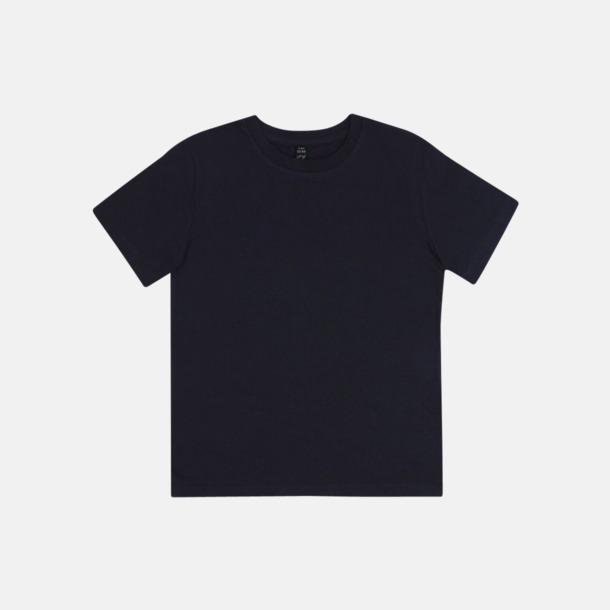 Marinblå (barn) Eko t-shirts för vuxna & barn - med reklamtryck