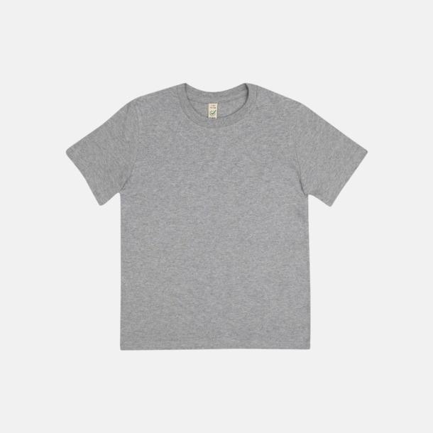 Melange Grey (barn) Eko t-shirts för vuxna & barn - med reklamtryck