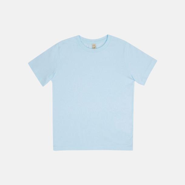 Ljusblå (barn) Eko t-shirts för vuxna & barn - med reklamtryck