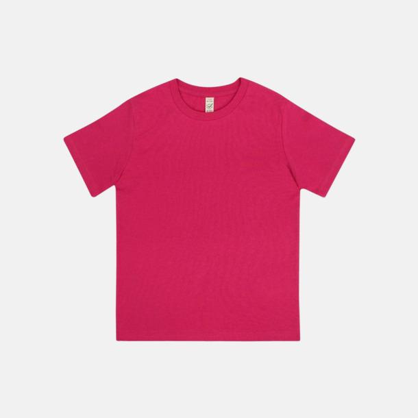 Hot Pink (barn) Eko t-shirts för vuxna & barn - med reklamtryck