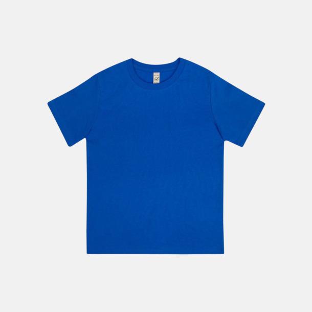 Bright Blue (barn) Eko t-shirts för vuxna & barn - med reklamtryck