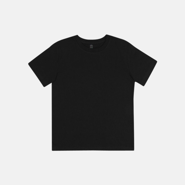 Svart (barn) Eko t-shirts för vuxna & barn - med reklamtryck