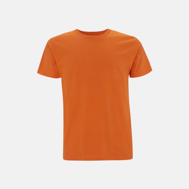 Orange (unisex) Eko t-shirts för vuxna & barn - med reklamtryck