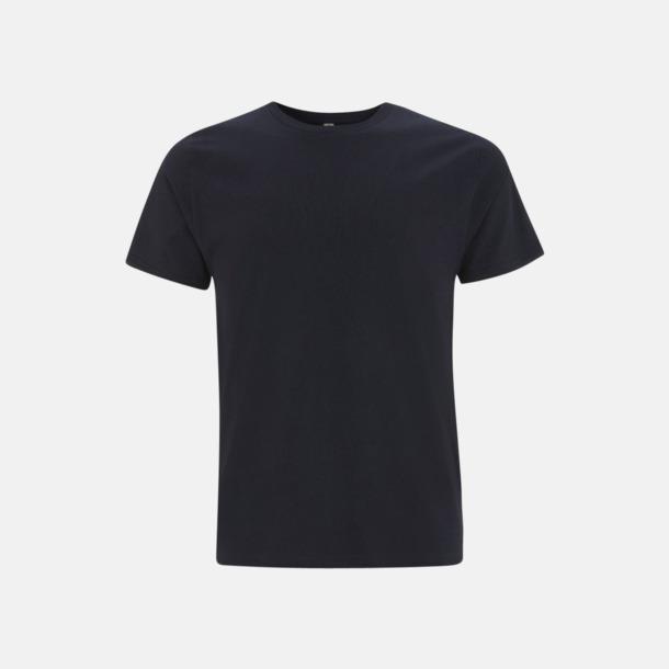 Marinblå (unisex) Eko t-shirts för vuxna & barn - med reklamtryck