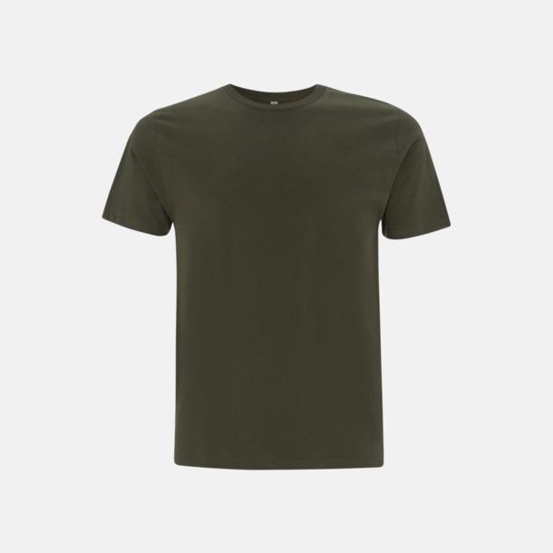 Moss Green (unisex) Eko t-shirts för vuxna & barn - med reklamtryck