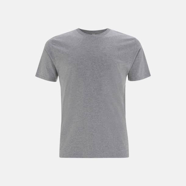 Melange Grey (unisex) Eko t-shirts för vuxna & barn - med reklamtryck