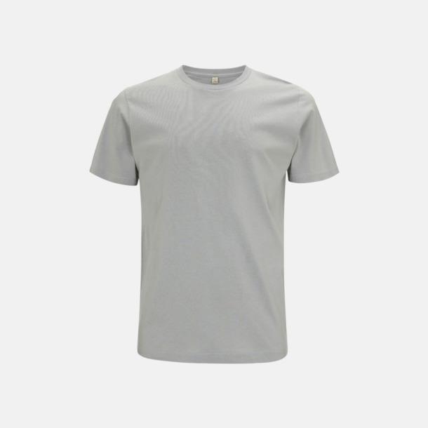 Ljusgrå (unisex) Eko t-shirts för vuxna & barn - med reklamtryck