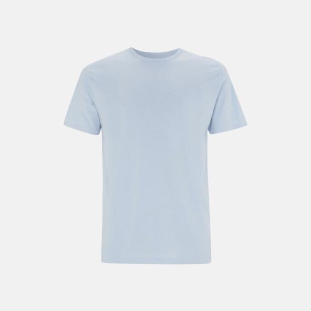 Ljusblå (unisex) Eko t-shirts för vuxna & barn - med reklamtryck