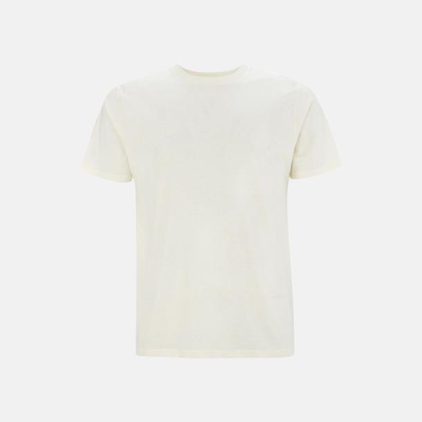 Ecru (unisex) Eko t-shirts för vuxna & barn - med reklamtryck