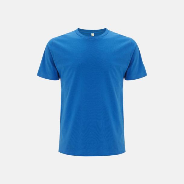 Bright Blue (unisex) Eko t-shirts för vuxna & barn - med reklamtryck