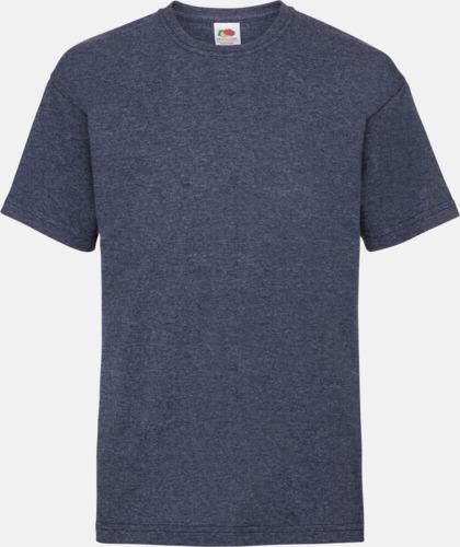 Vintage Heather Navy T-shirt barn - Valueweigth barn t-shirt