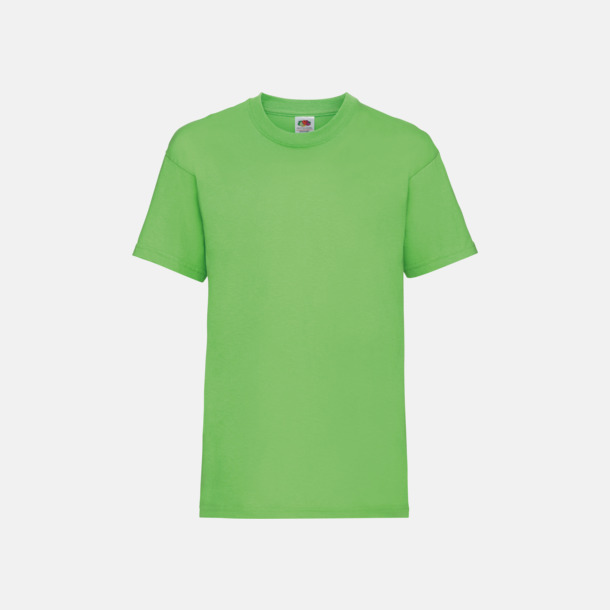 Lime T-shirt barn - Valueweigth barn t-shirt
